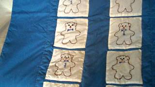 Bears Medley Baby Quilt