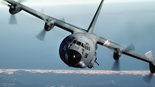 Day in the Life of an AC130 Plane: Live Firing with the US AirForce!