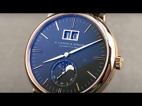 A. Lange \u0026 Sohne Saxonia Moon Phase 384.031 A. Lange \u0026 Sohne Watch Review