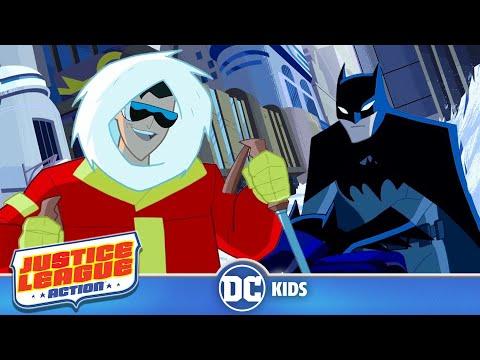 Justice League Action em Português  Fica frio Gelado  DC Kids