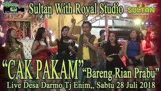 CAK PAKAM Rian Prbu With Sultan 4D Live Darmo TJ ENim 28 07 18 Created By Royal Studio