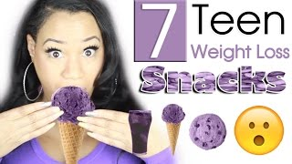 7 Teen Weight Loss Snacks that are EASY to make