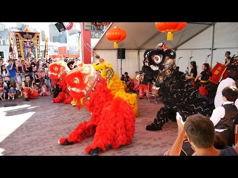 2016 Perth Night Noodle Markets LED Lion Dance Friday Second Show - Chow Kwoon Yarn Yee Tong 仁義堂 from YouTube · Duration:  4 minutes 48 seconds