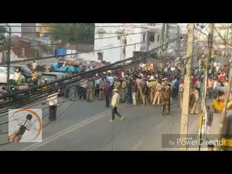 Stone Pelting At Amberpet L Raja Singh Bjp Mla Arrest L Raja Singh Bjp Mla Blames On Police One Side