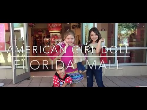 American Girl Doll- New Store In The Florida Mall