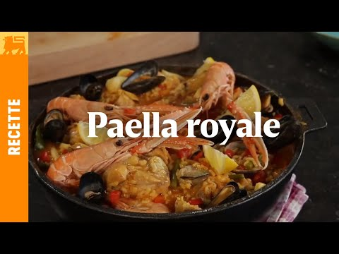 paella royale youtube. Black Bedroom Furniture Sets. Home Design Ideas