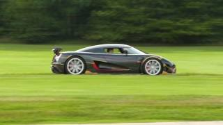 Koenigsegg Agera RS - LOUD Sounds (Test Drive) !!