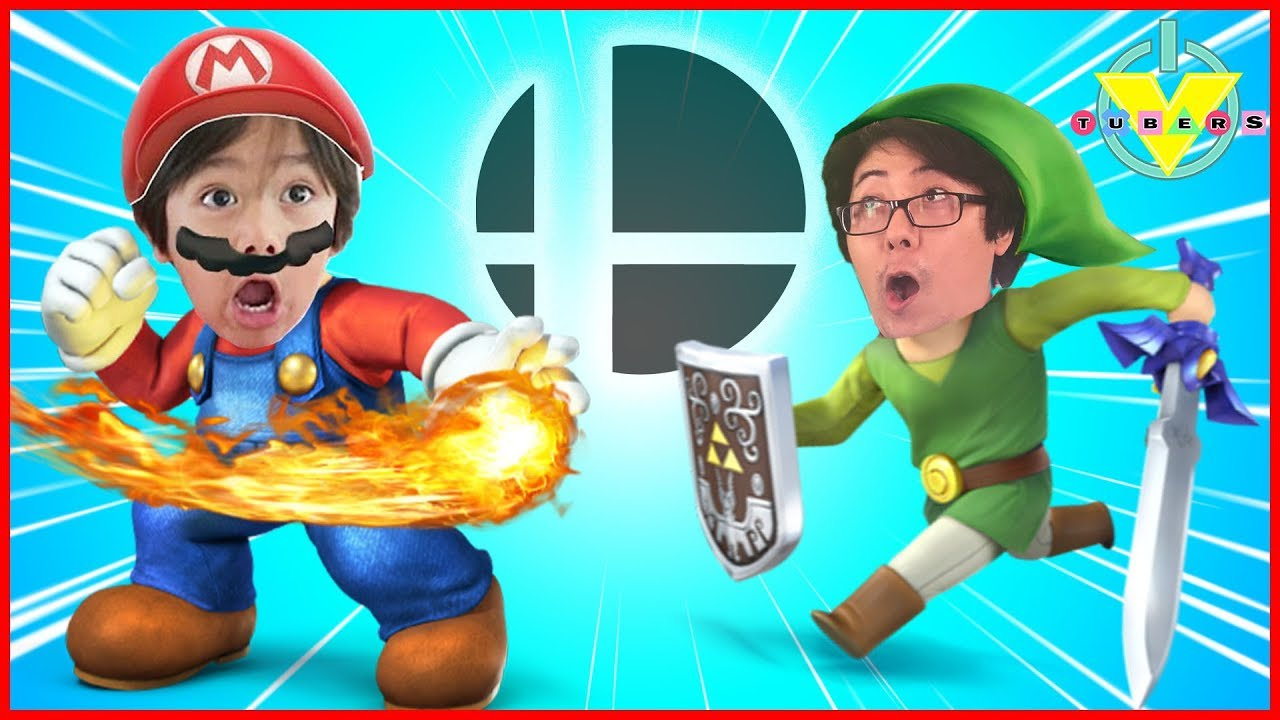 Super Smash Brothers 100 Man Smash Challenge Vtubers Ryan Vs Daddy