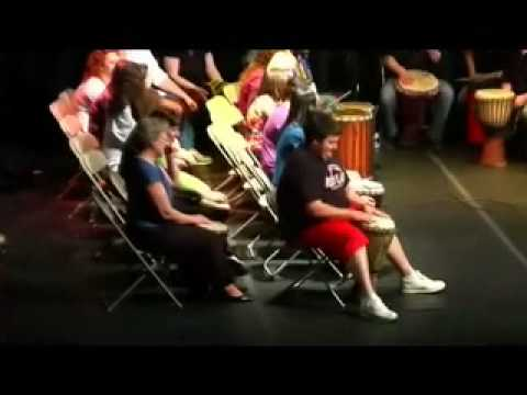Joe Drago is our Special Guest Star : SFU World Drumming Ensemble :  Jim Donovan Director