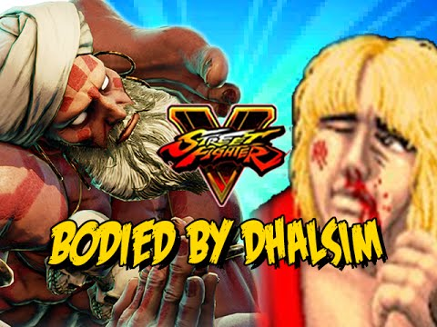 BODIED BY DHALSIM - Road To Platinum: Street Fighter 5 w/Mods