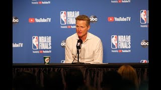 "Steve Kerr on Raptors: ""They're Warriors"" - Full Press Conference   Warriors vs Raptors   Game 4"
