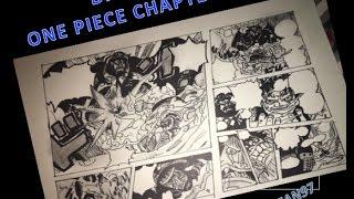 Drawing One Piece manga page (Chapter 534)