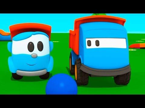 Лева Малыш. Новый 3d мультфильм про машинки: Грузовичок Лева ищет друга