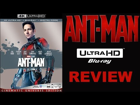 4K Or 3D? Ant Man 4K Blu-ray Review   Marvel's BEST