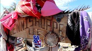 #1137 DENNIS HOPPER Historic Home & Grave - TAOS NM - Jordan The Lion Daily Travel Vlog (9/17/19)