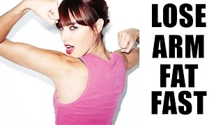 How To Lose Arm Fat   4 Ways To Lose Arm Fat in A Week