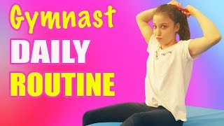DAILY ROUTINE OF GYMNAST #2 🤸 || AURY GYMNASTICS