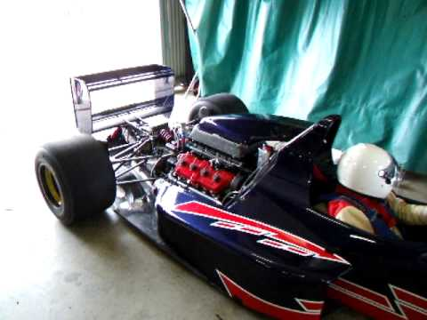 1UZ-FE RMS Race Engine in Bob Muirs Reynard Open Wheeler