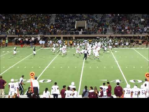 Klein Forest High School Homecoming Football Game vs Northbrook 2017 Second Half