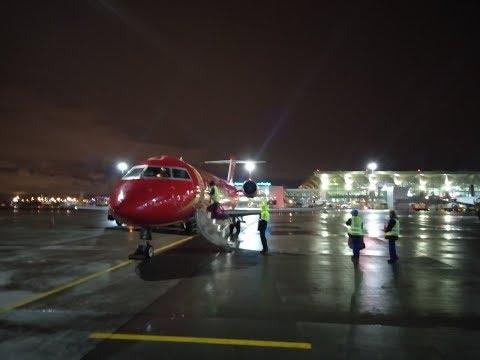 Пулково СПб- Нарьян-Мар Bombardier CRJ 100 РусЛайн
