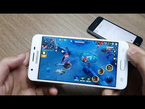 [Theo yêu cầu] Samsung Galaxy J5 prime Chơi Liên Quân | 22 phút 7% Pin| Mượt | Nóng 37 độ| Ăn hành