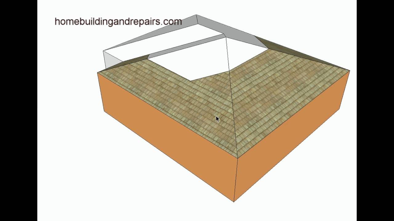 hip roof design for l shaped home addition architecture