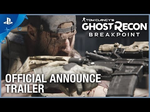 Tom Clancy's Ghost Recon: Breakpoint - Announce Trailer | PS4