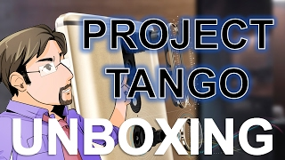 AR Eric and Project Tango: Unboxing (Lenovo Phab 2 Pro)