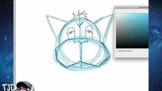 Digital Drawing tutorial part 1