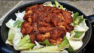 **춘천닭갈비 맛집은 이거 1스푼을 넣어요** 감히 춘천에서 사먹는것보다 맛있다고 말할수있습니다.