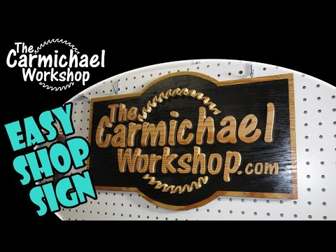 How to Make a Wood Sign with a Scroll Saw - Easy DIY Project