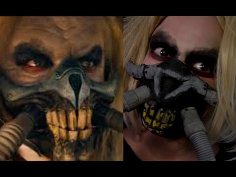 EASY Immortan Joe Mask Mad Max Halloween Makeup Tutorial 2019 SMASHINBEAUTY - 동영상