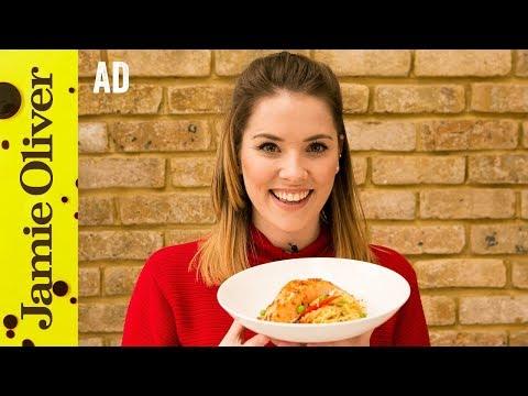 Sweet Chilli Salmon Stir-Fry | Katie Pix | Ad