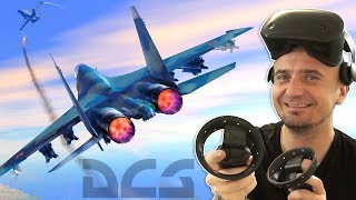 MOST REALISTIC VR COMBAT FLIGHT SIMULATOR | DCS World 2.5 on Samsung Odyssey Windows Mixed Reality