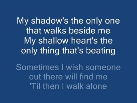 Green Day - Boulevard Of Broken Dreams (Lyrics on Screen)