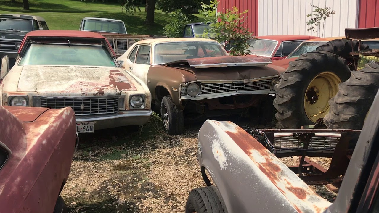 Massive Musclecar Barn Find Cars And Parts Hoard Found In Iowa Part