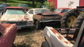 Massive Musclecar Barn Find Cars And Parts Hoard Found In Iowa Part 2