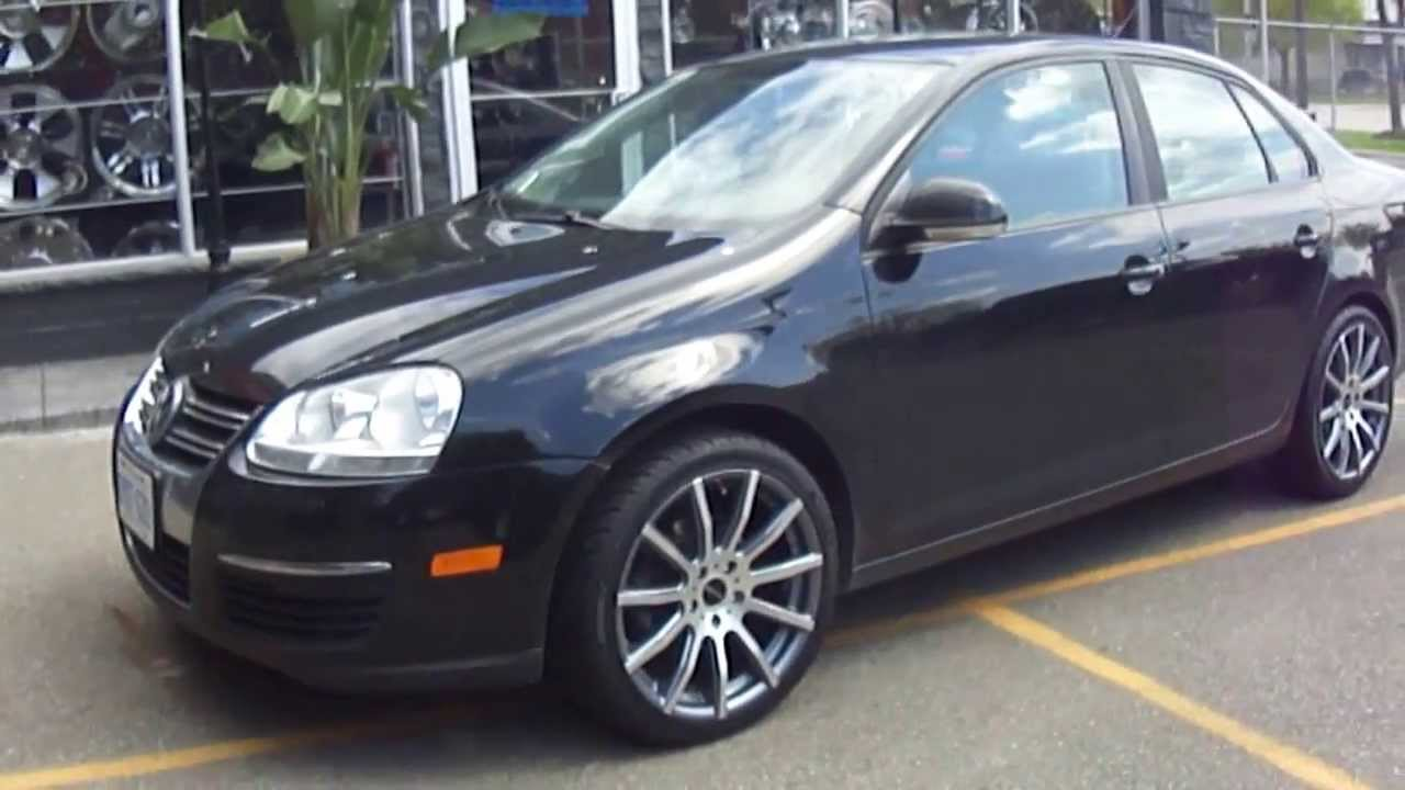 "HILLYARD CUSTOM RIM &TIRE 2010 VOLKSWAGEN JETTA WITH 18"" RIMS - YouTube"