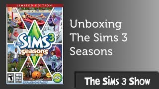 The Sims 3 Seasons Limited Edition Unboxing and Install