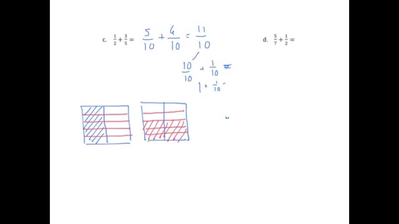 medium resolution of Add Fractions with Improper Sums (solutions