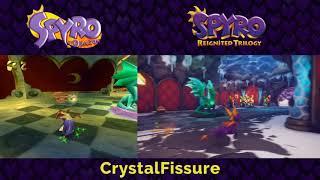 Spyro Reignited Trilogy | Artisans & Magic Crafters PS1 vs. PS4 Comparison