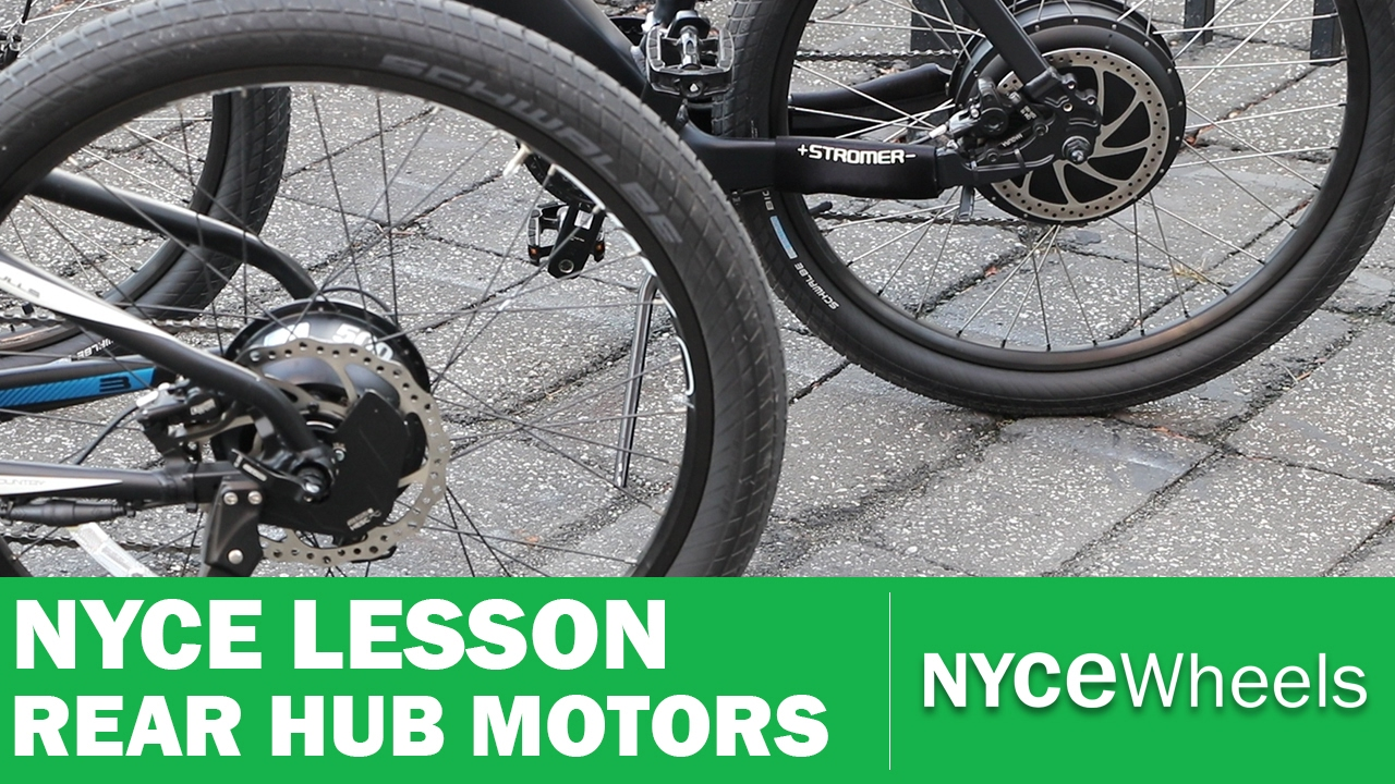 E-Bike Hub Motor Comparison, Geared vs Gearless - NYCe Lesson