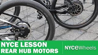 E-Bike Hub Motor Comparison, Geared vs Gearless - NYCe Lesson