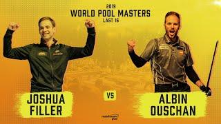 Joshua Filler vs Albin Ouschan | 2019 World Pool Masters Last 16