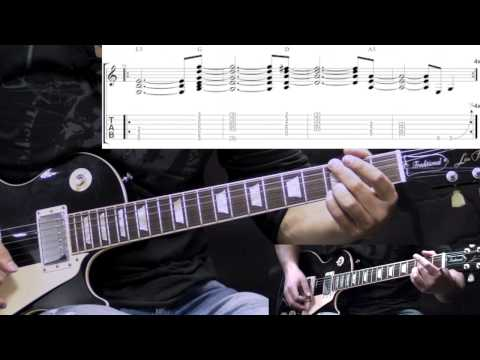 Alice In Chains - Man In The Box with Solo - Guitar Lesson (with TABS)