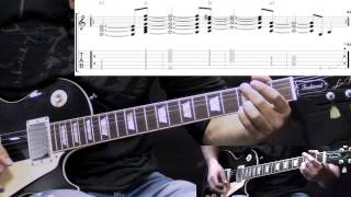 AIC - Man In The Box with Solo - Guitar Lesson (with TABS)
