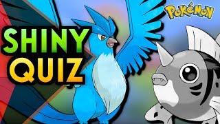Schwerstes Shiny Pokemon Quiz