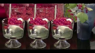 """An Old Fashion Scandinavian Red Currant """"ryste Ribs"""" Berry Sauce For Ice Cream & Desserts"""