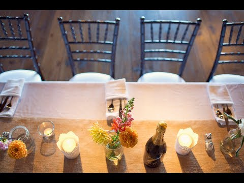 Dish towels for your rustic wedding - Fold a kitchen towel to hold  silverware at your barn wedding