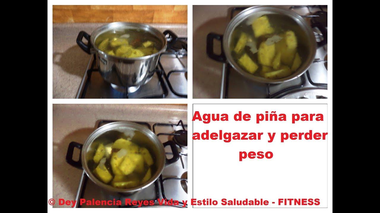 Agua de pi a para adelgazar y bajar de peso agua de pi a Hierbas para bajar de peso y quemar grasa